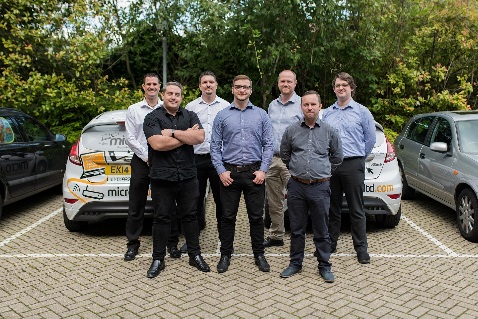 IT Support Surrey - Micro Pro Team Photo